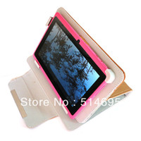 "other other other Brown Newest Magic Leather Case + Stylus For 7"" DOPO Double Power T-711 T-708 T711 T708 Tablet free shipping"