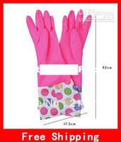Wholesale Winter Necessities Thick Latex Working Long Gloves Laundry Gloves Nice Dish Washing Latex Gloves