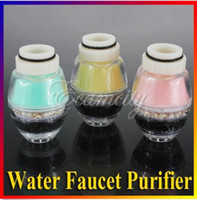 Wholesale New Home Kitchen Natural Coral Activated Carbon Water Tap Filter Faucet Purifier