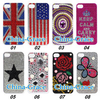 Wholesale For iPhone S Diamond Cover Bling Diamond Case For iPhone TZ
