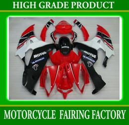 Motorcycle Fairing kit for YAMAHA YZF R6 06 07 YZF-R6 06 07 YZFR6 2006 fairings MOTUL red white RX4z