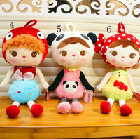Wholesale Cute inch Angela Plush Doll Metoo Stuffed Rabbit Dolls Toys with Boxes Kids Gifts styles Plush Toy