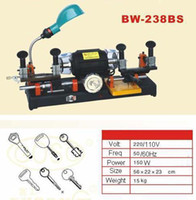 Wholesale 238BS Car Key Duplicating Duplicate Double Sides Cutting Machine Wheel