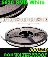 Wholesale led ribbon High power W Super Bright M SMD cool white pure white warm White Flexible LED Strip Light NONwaterproof V