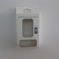 Wholesale Carton Retail Packaging Box For pin USB Adapter Wall Charger Cable iPhone s iphone G