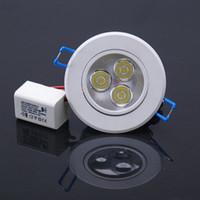 3W Led Celing light 1w - DHL W W Led High Power Ceiling light years Warranty Down light Warm Cool White AC85 V