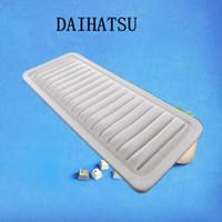 Wholesale car pure white fiber air filter for Daihatsu auto part cm A1223