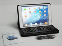 Wholesale Ipad mini bluetooth keyboard case cover with roating