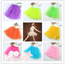 Wholesale 11 Colors Layer TUTU BALLET SKIRTS BIG GIRLS TEENS ADULTS Waist