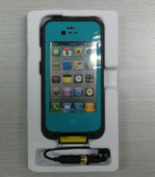 Wholesale Teal colors Dirtproof Waterproof Case for iPhone s with Retail Package Best Seller