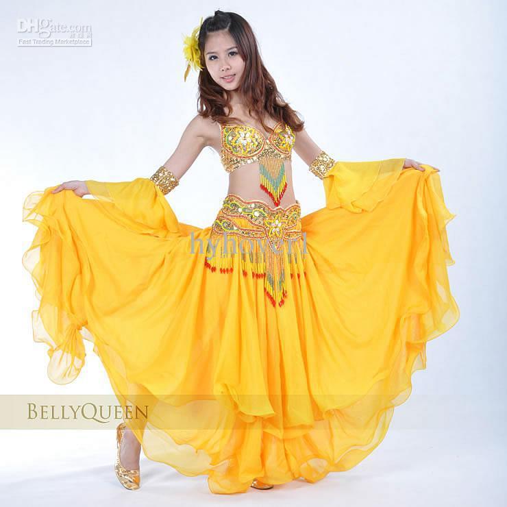 dance clothing costume bra+skirt Sets show Set women wear clothing
