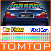 Personalized Sticker Windshield  90*10cm Sound Music Activated EL Sheet Car Sticker Equalizer Glow Flash Panel Light Accessories K822