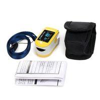 big monitors - CONTEC Big Discount Pluse Oximeter Fingertip SPO2 Monitor CMS50D with CE FDA Approved Silicon Rubber Case
