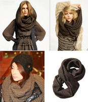 Wholesale Solid Color Shawl Thicken Bib Wool Muffler Colorful Scarf Scarves