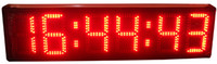 Wholesale 8inch digits hours minutes and seconds countdown LED clock HST6 R