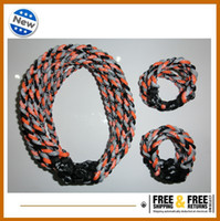 Wholesale Best price for ropes tornado titanium necklace and bracelet you can free choose the size