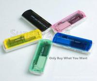 Wholesale Fashion New USB TF M2 Camera Micro SD Memory Stick M2 Mini Card Reader Multi Cards In