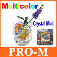Wholesale About Bags Magical Crystal Mud Soil Water Beads for Flower Plant Multicolor Free Dropshipping