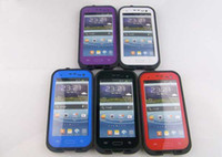Wholesale AAAAA Quality Waterproof Cover Case for Samsung Galaxy i9300 S3 iPhone s iphone S