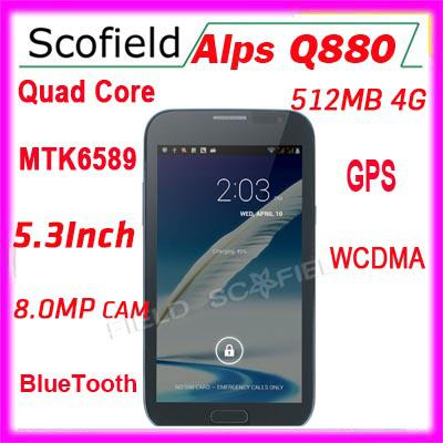 Wholesale Smart Phone - Buy Alps Q880 MTK6589 5.3 QHD Screen Quad ...
