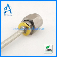 Wholesale 40GHz RF semi flexible Cable Assembly with mm mm connector