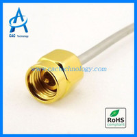 Wholesale 40GHz RF semi rigid Cable Assembly phase stable with mm mm connector