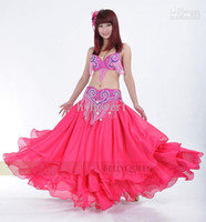 Wholesale belly dance clothing costumes bra top gridle set women wear costumes belly dancing sets performance