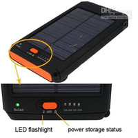 Wholesale 12000mAh Universal Solar Charger For Laptop notebook MID tablet pc iPad Mobile Phone mp3 PSP GPS