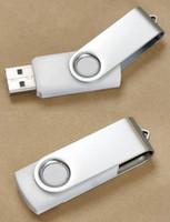 Wholesale 64gb Premium White Swivel USB Flash Memory Drive Stick Pen Thumb GB Free ship