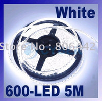 Wholesale Cool White led strip light M SMD LED Waterproof Flexible Strip V led M blue red yellow