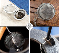 Wholesale Tea Infuser Stainless Steel Tea Pot Infuser Sphere Mesh Tea Strainer Ball cm