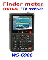 digital meter - SATLINK WS digital satellite reciever finder meter DVB S FTA reciever LCD screen