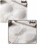 Wholesale Invisible Wedding Breast Petal thickening Accrescent Breathable Silica Gel Underwear Bra pad Insert