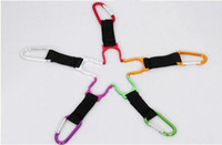 Wholesale Fashion Water Bottle Holder With D Ring Carabiner Hook Buckle