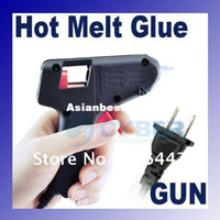Wholesale 20W V V Mini Electric Heating Hot Melt Glue Gun Crafts Repair Tool Professional US Plug Free