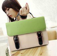 Women Plain PU Fashion bags women's Portable envelope bag A4 Women designer handbags fashion shoulder bag