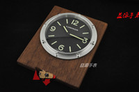Wholesale Luxury Home Decor Luminor Marina Wall Clocks Brand Watch Watches Top Quality Stainless Wall Clock