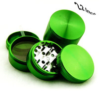 Wholesale 4 Parts Herb Grinder CNC Aluminum Inch Green US SELLER