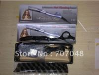 Hair beard hair color - ultrasonic hot vibrating Razor for hair cut remy hair beauty salon use Black color