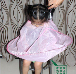 Hair Cut Cutting Salon Stylist Cape Nylon Barber Cloth for children