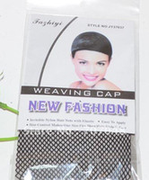 Wholesale 50 NEW Fishnet Wig Cap Stretchable Elastic Hair Net Snood Wig Cap Wig Cap Hair Net