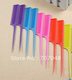 20pic lot Free Shipping Professional Salon Cutting Comb. Hard Plastic Combs. Sharp Point End