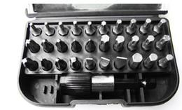 Wholesale Super quality31 pieces set precision bit tool set allen keys wrench set