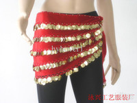 Belly Dancing Velour Sequin Belly dance hip scarf women wear costumes belly dancing tribal belt hanging coins flannel + hanging