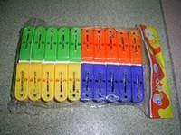 Wholesale Plastic clip plastic clothes peg plastic hanger clip plastic clip bag cm
