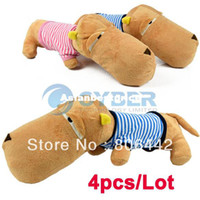 Wholesale Holiday Sale Cute Plush Big Head Dog Pillow Cushion Soft Throw Pillow Kid Ani