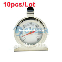 Wholesale 10pcs New Hot Degree Classic Stainless Steel Household Oven Thermometer TK02