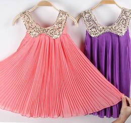 2013 Girls Dresses Lovely Refreshing Chiffon Dress Children's Summer Style Dress Children's Clothing