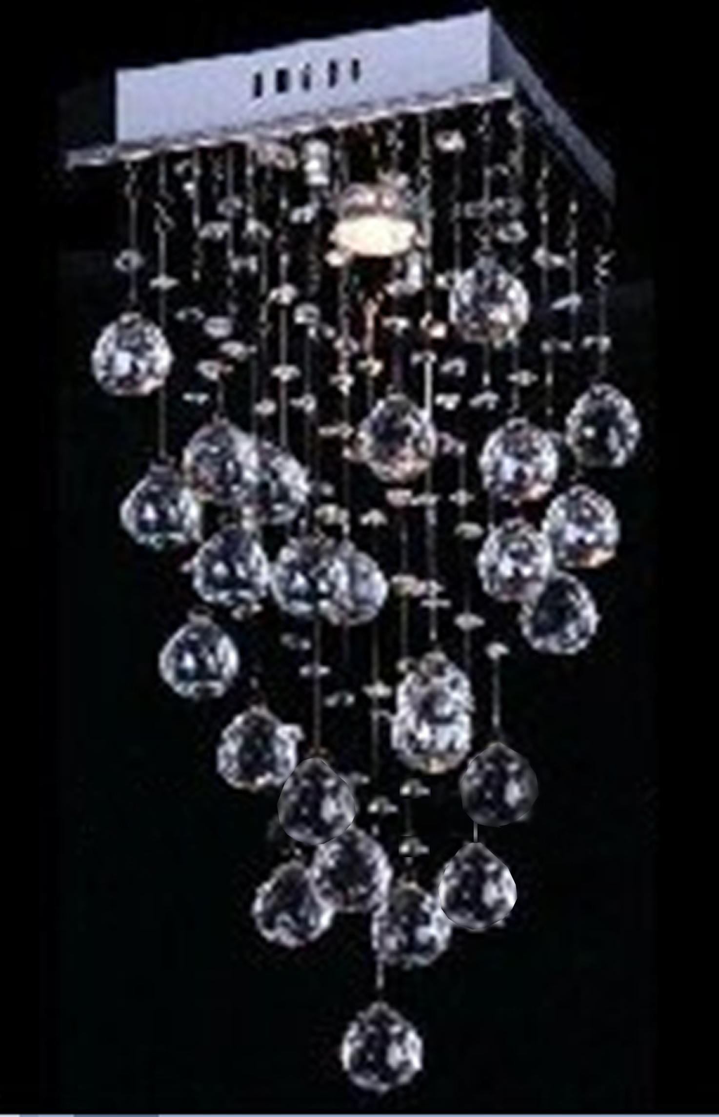 elegant style crystal ceiling lights modern ceilling lamp length  - cheap crystal ceiling lights best ceiling lights w dimmable