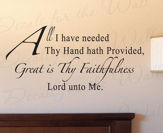 Great is Thy Faithfulness Wallpaper